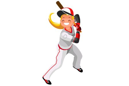 249 Girls Softball Stock Illustrations, Cliparts And Royalty Free.
