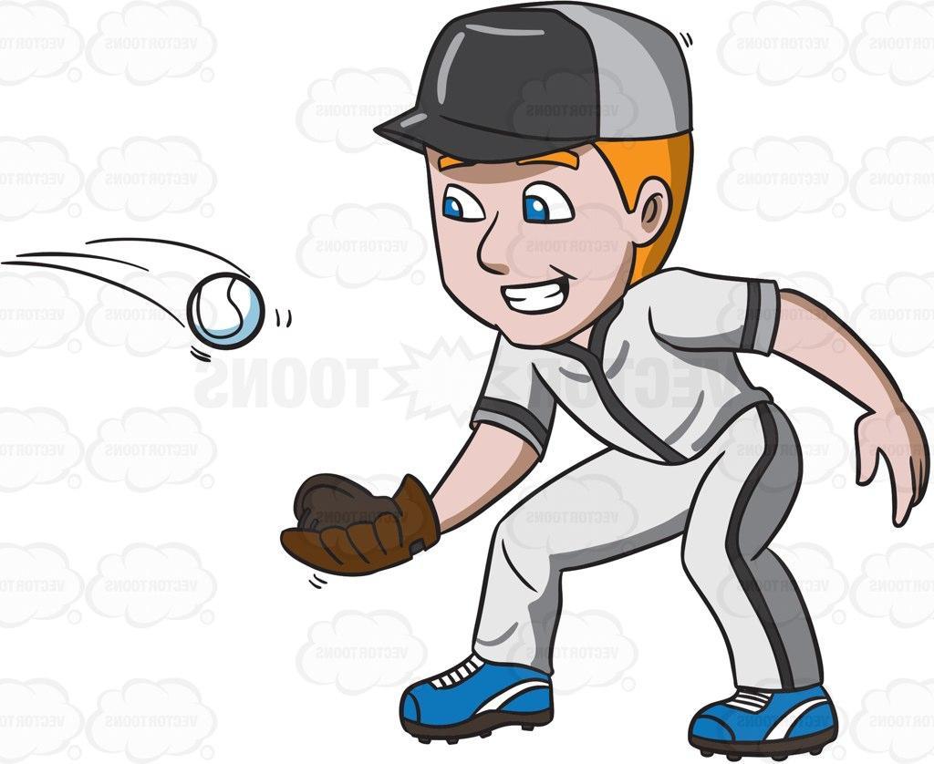 Best Cartoon Baseball Player Vector File Free » Free Vector Art.