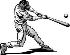 Baseball Player Clipart Free.
