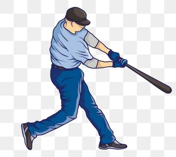 Baseball Player PNG Images.