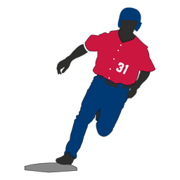 Baseball player transparent PNG or SVG to Download.
