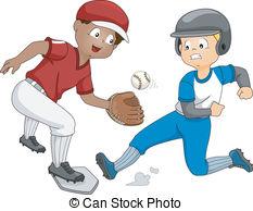 Baseball player slide Vectors, Vector Clipart & EPS images.