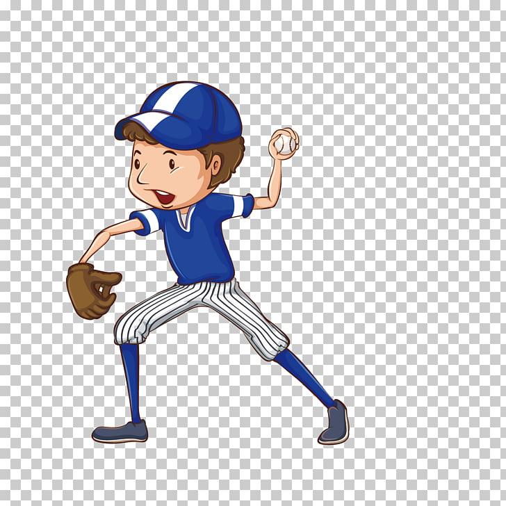Baseball player Drawing , Cartoon Boy Baseball PNG clipart.