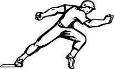 Baseball runner clipart 4 » Clipart Portal.