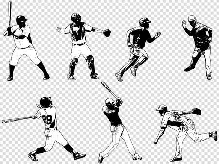 476 Baseball Runner Stock Vector Illustration And Royalty Free.