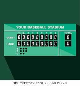 Baseball scoreboard clipart 3 » Clipart Portal.