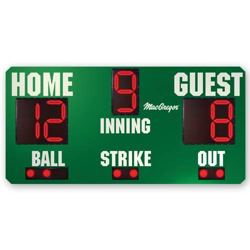 8' X 4' Baseball Scoreboard.