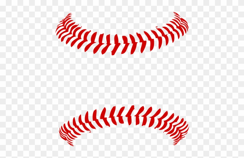Baseball Stitches Png.
