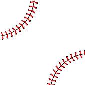 Free Baseball Seam Clipart and Vector Graphics.