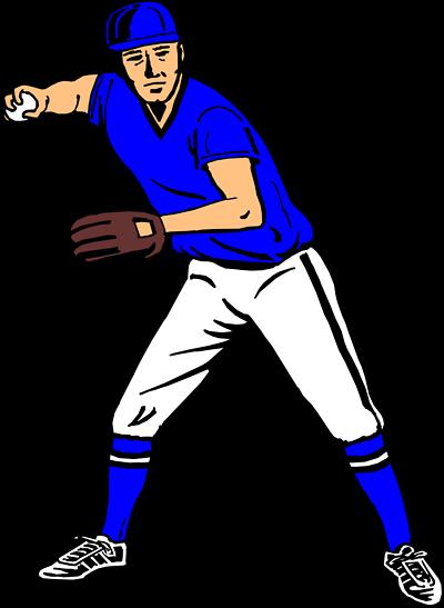 Baseball Sideways Clipart.