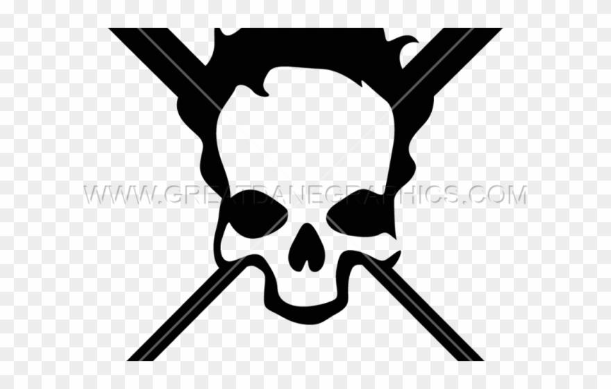 Baseball Clipart Skull.