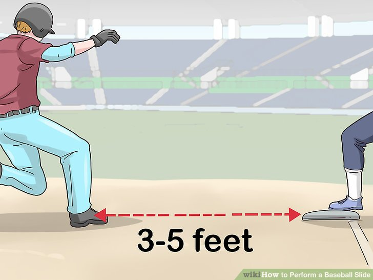 How to Perform a Baseball Slide (with Pictures).