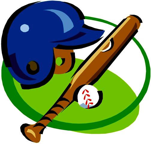Baseball softball clipart image.