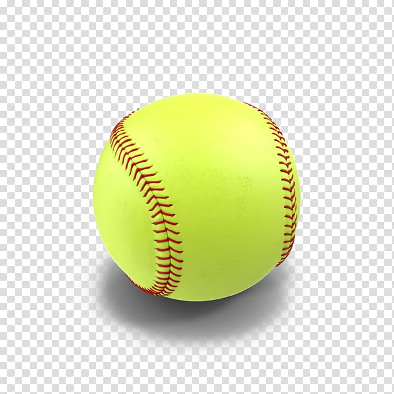 Green baseball, Softball , Slow Softball transparent.