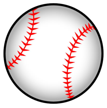 Baseball Softball Clipart.