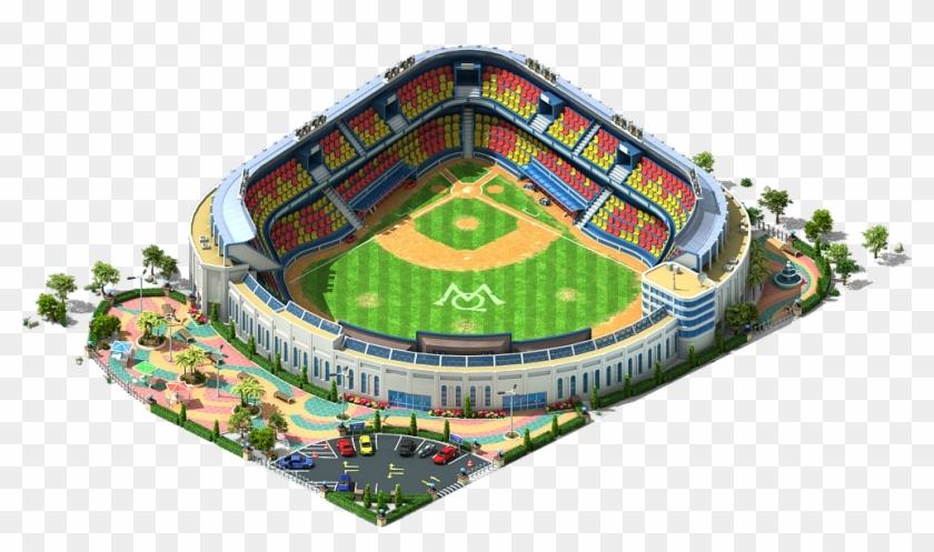 Baseball Stadium Png, Transparent Png.