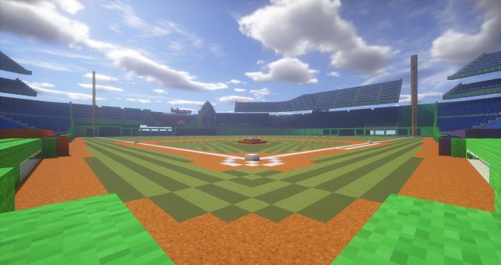 Baseball Stadium: Marlins Park Project (updated) Minecraft Project.