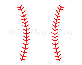 Huge Collection of 'Baseball stitches silhouette'. Download more.