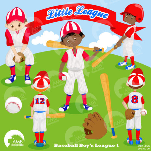 Baseball Team clipart, Baseball Diamond clip art, Baseball clipart,  Commercial use, vector graphics, digital images, AMB.