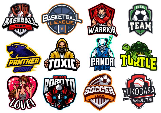 design sports,baseball,basketball,gaming,twitch mascot logo.