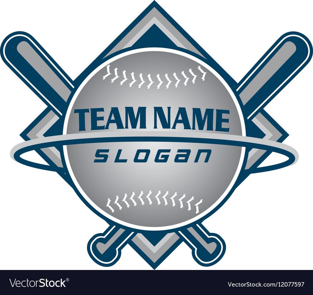 Baseball team logo.