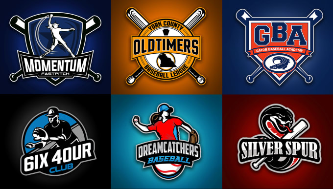 create logo for your baseball softball team.