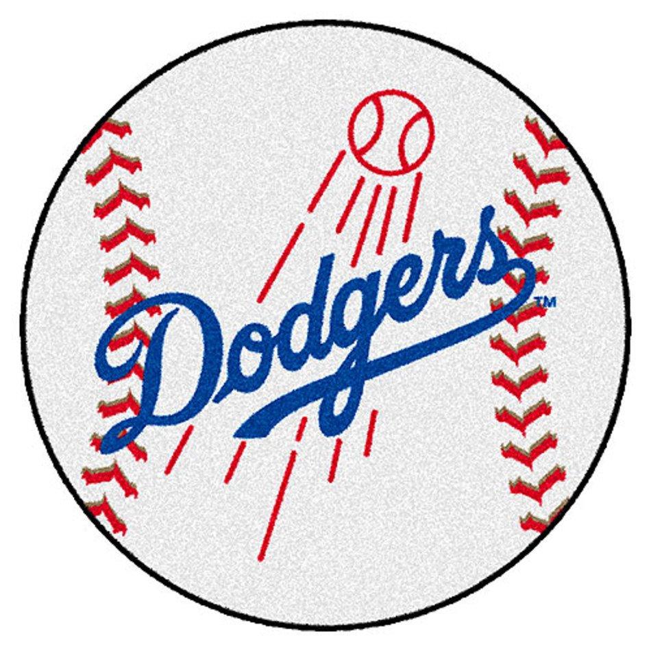 Dodgers Baseball Team Logos Clip Art free image.