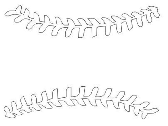 Baseball clipart thread, Baseball thread Transparent FREE for.