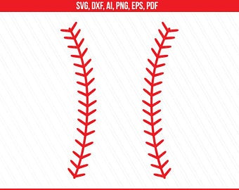 Baseball stitches svg.