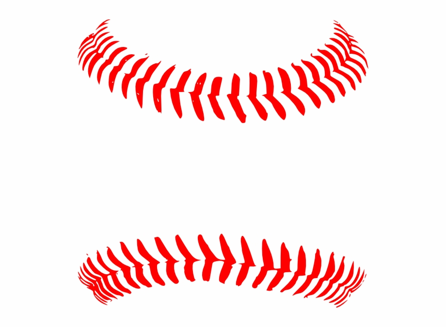 Softball Stitches Png.