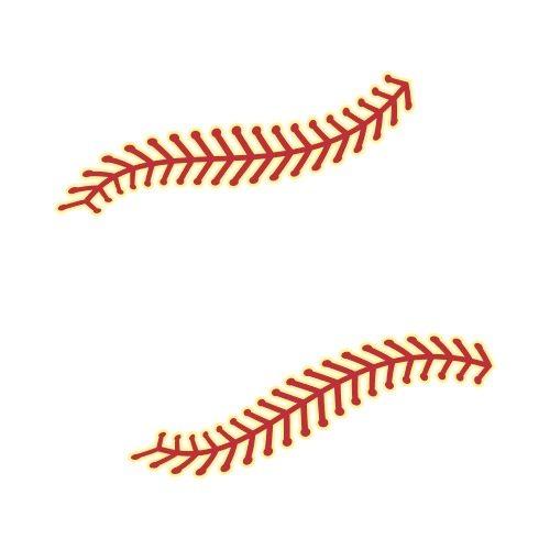 BASEBALL THREADS Clip Art.