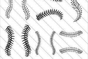 Baseball threads clipart 5 » Clipart Portal.