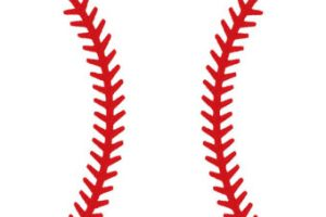 Baseball threads clipart 4 » Clipart Station.