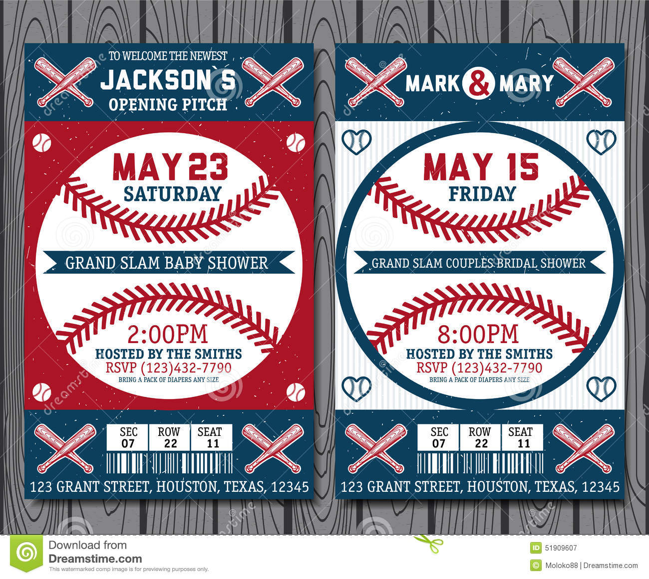 Baseball tickets stock vector. Illustration of eagle.