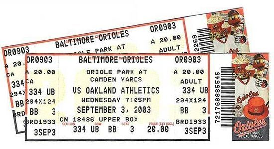How to Create a Ticket Stub Online.