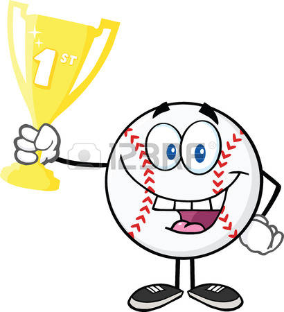 1,778 Baseball Trophy Stock Vector Illustration And Royalty Free.