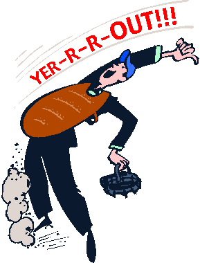 Umpire You\'re Out Clipart.