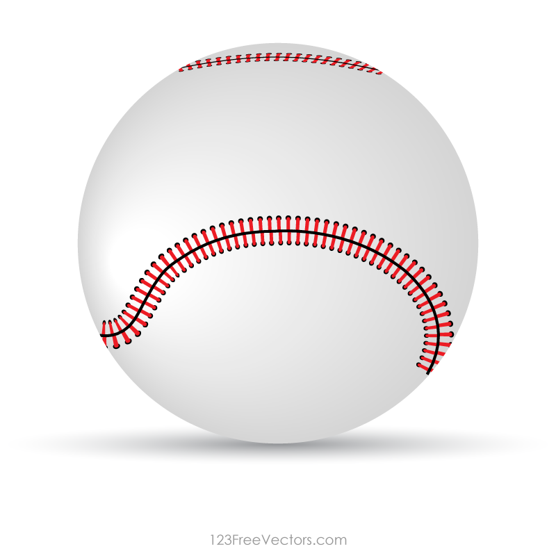 Baseball Vector Clipart.