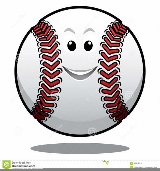 Smiley Face Baseball Clipart.