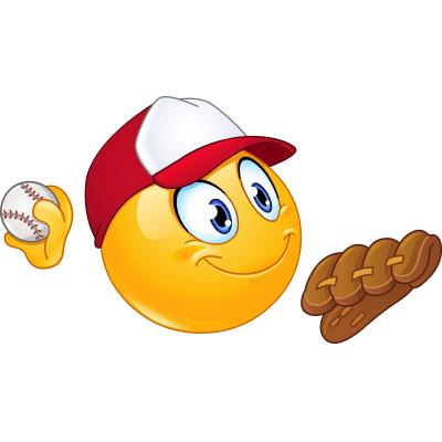 Baseball Smiley.
