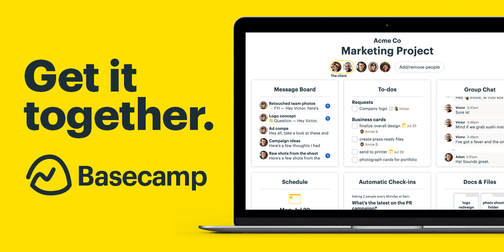 Basecamp: Project Management & Team Communication Software.