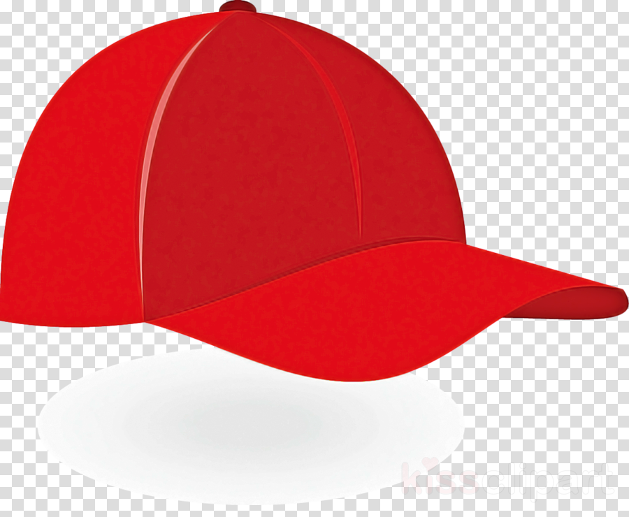 cap clothing red white baseball cap clipart.
