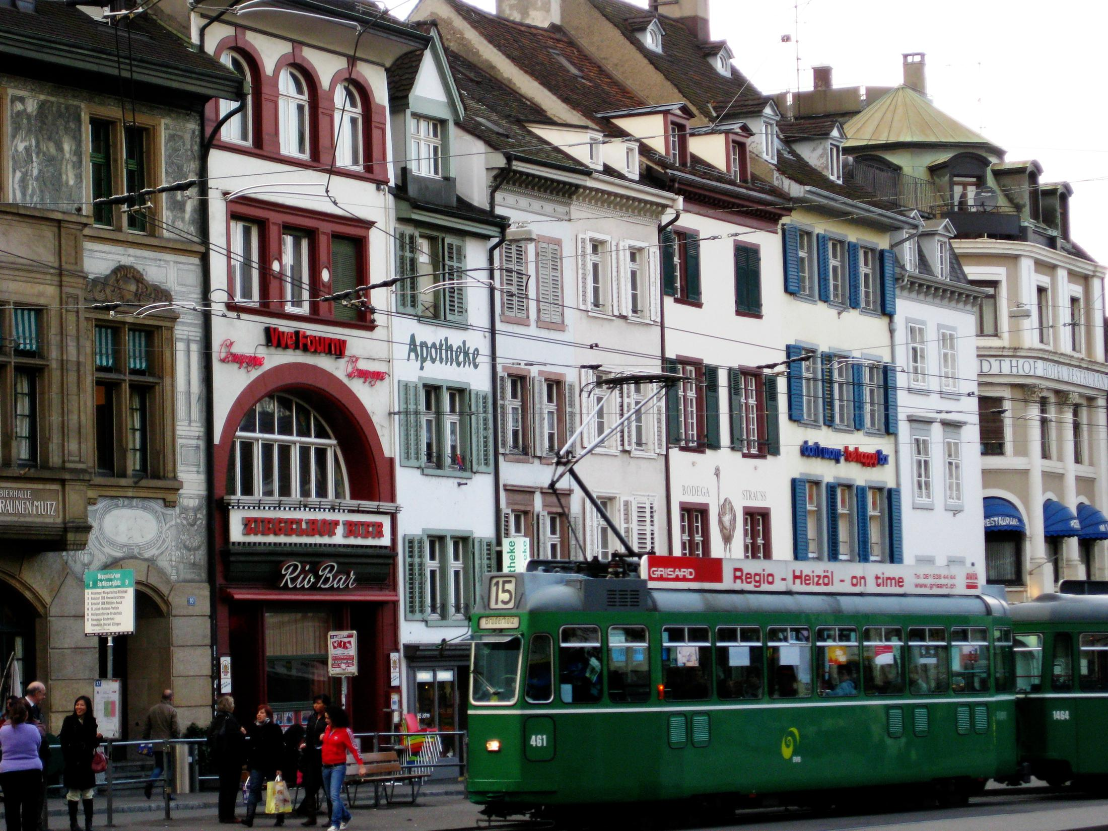Basel Travel Guide: Old Town And Wide Variety Of Good Museums.