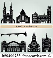 Basel Clipart and Illustration. 105 basel clip art vector EPS.