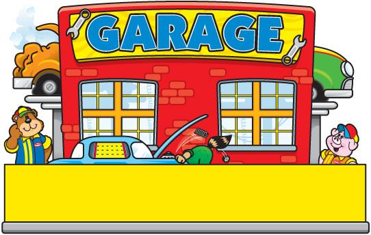 Garage cliparts.