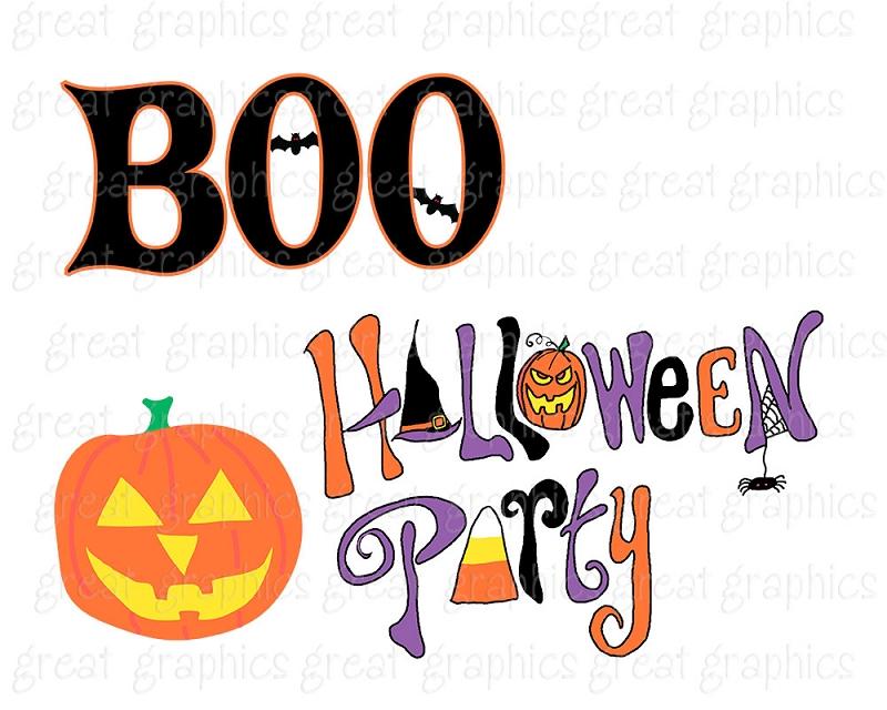 Clip Art Halloween Bash Clipart.