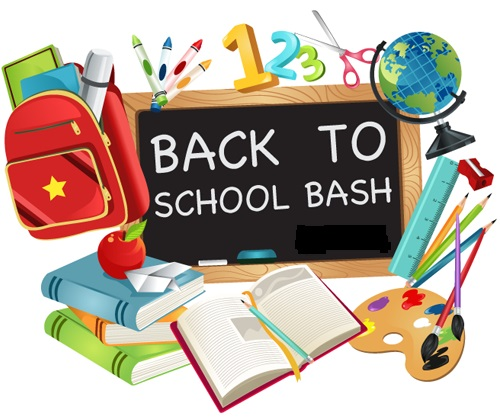 Out of school bash clipart.