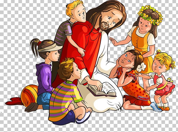 Bible Teaching Of Jesus About Little Children PNG, Clipart.