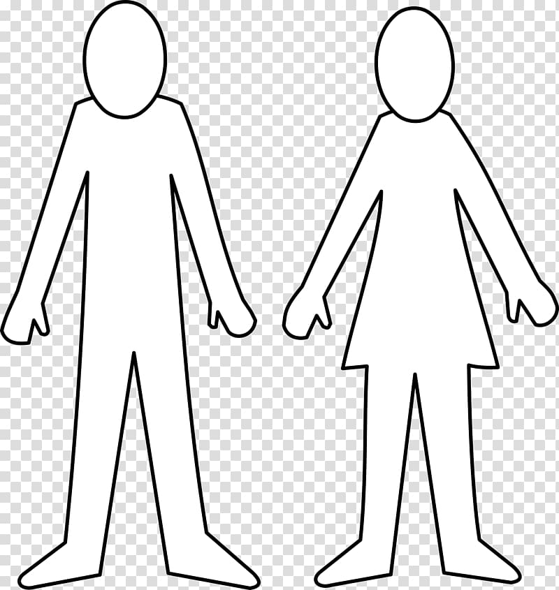 Female Body Shape transparent background PNG cliparts free.