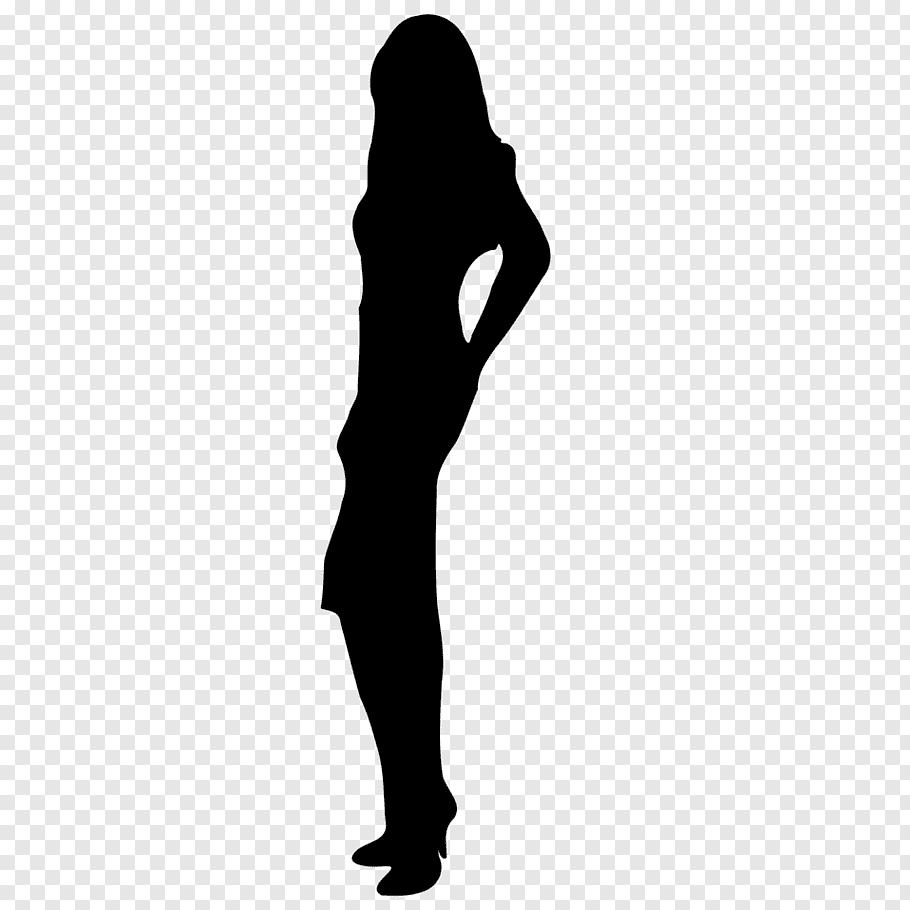 Woman, Female Body Shape, Silhouette, Drawing, Human Body.